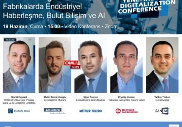 19 Haziran 2020 tarihinde Endüstriyel Dijitalizasyon paneline bekliyoruz