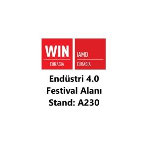 WIN Eurasia 2021 fuarında Endüstri 4.0 festival alanındayız